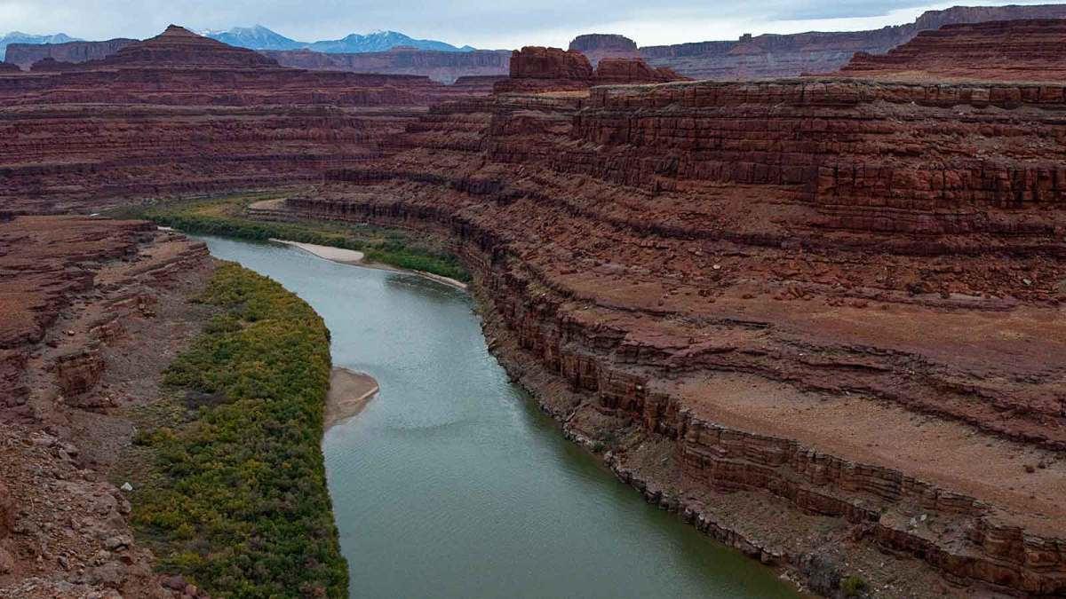 Dead Horse Point, Colorado River