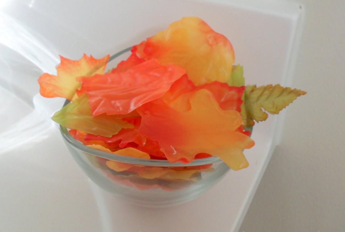 Fall leaves soap