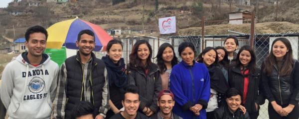Thank you Leo Club members for volunteering