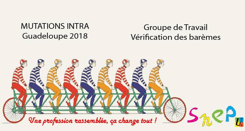 GT vérification des barèmes Mouvement 2018