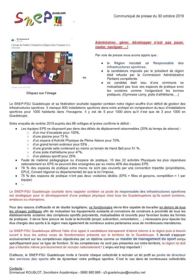 20191030, CP SNEP-FSU Guadeloupe, Administrer, gérer, développer n'est pas jouer, rouler, naviguer !_Page_1.jpg