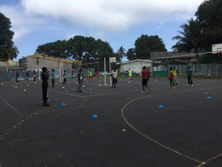 Volley à Chiconi