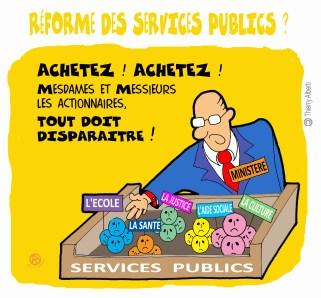 Réforme Services Publics