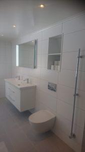 Renovering badrum i Norrtälje