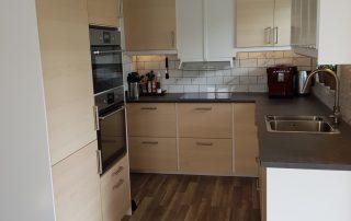 Nyrenoverat kök från IKEA