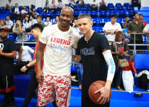 Stephon Marbury and The Professor