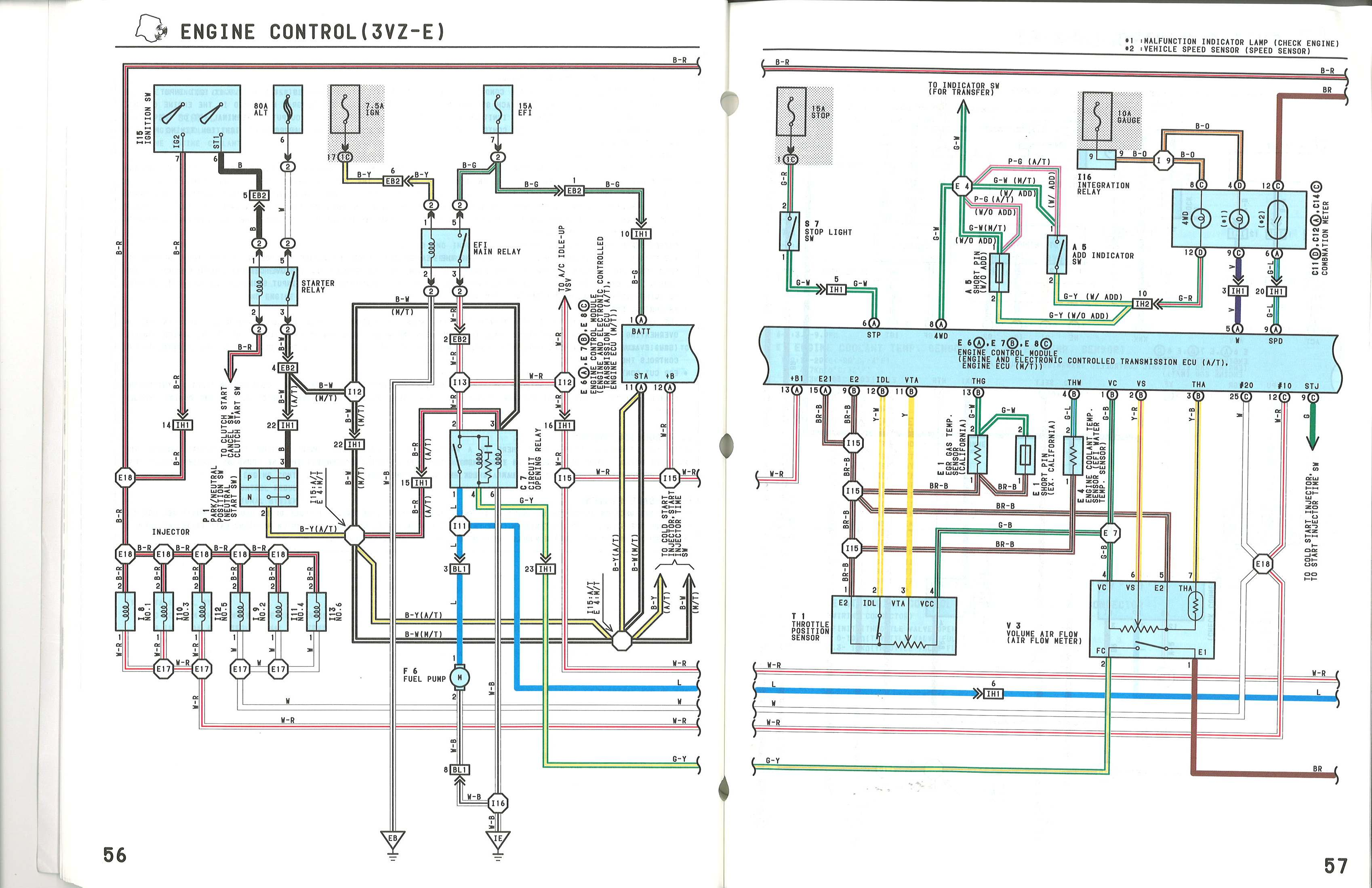 1991 toyota 4runner stereo wiring diagram 2 humbucker cressida engine