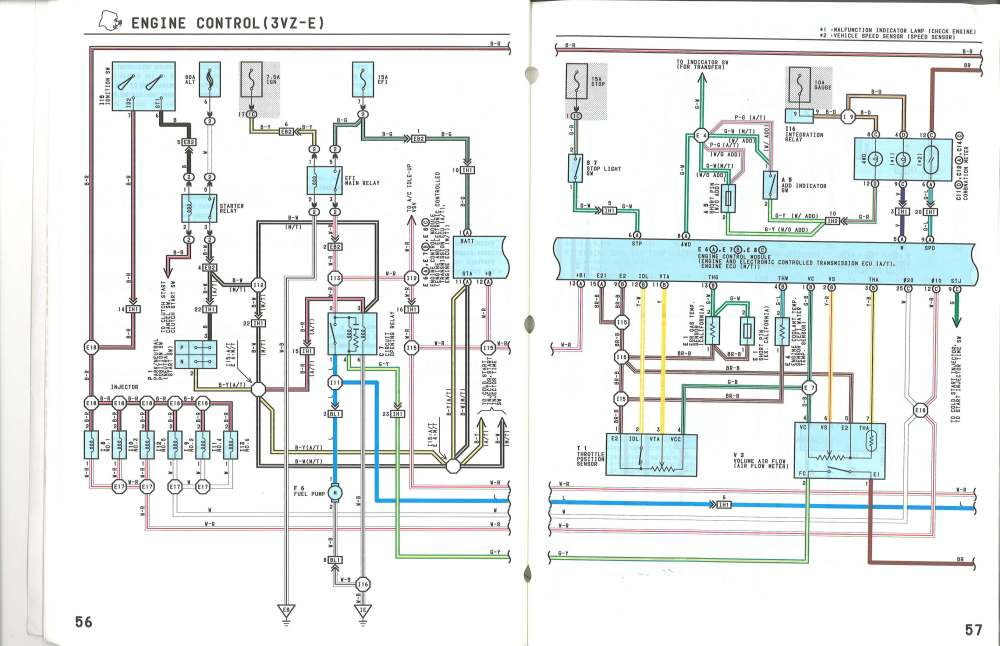 medium resolution of 1990 toyota pickup 3vze wiring diagram wiring diagram database 3vze ecu pinout yotatech forums 1990 toyota