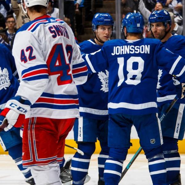 Leafs vs Rangers