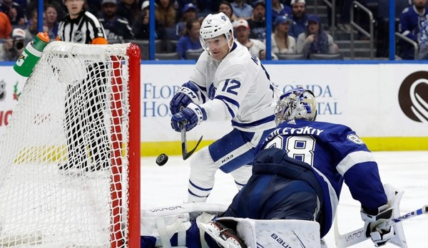 Maple Leafs vs Tampa