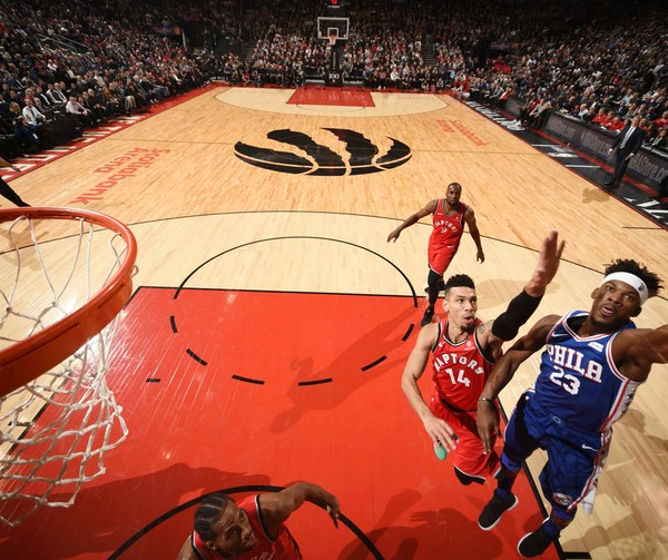 Raptors vs 76ers