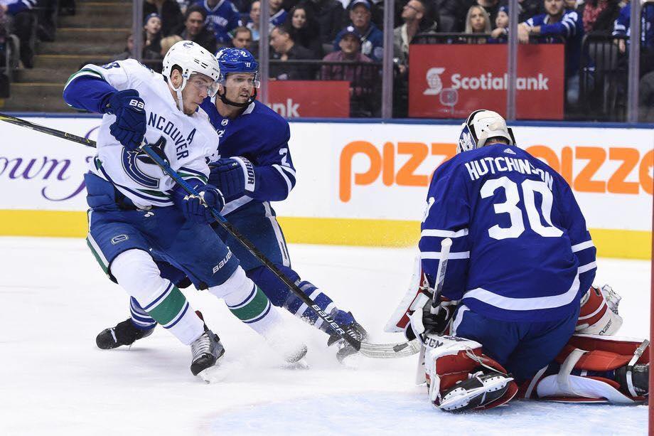 Leafs vs Canucks