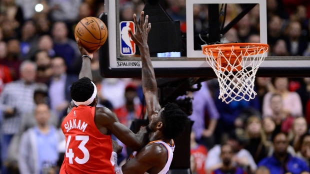 Raptors vs Suns