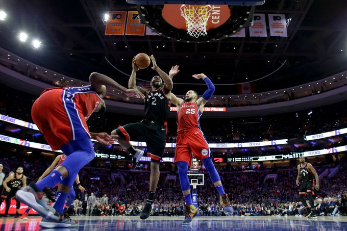 76ers vs Raptors