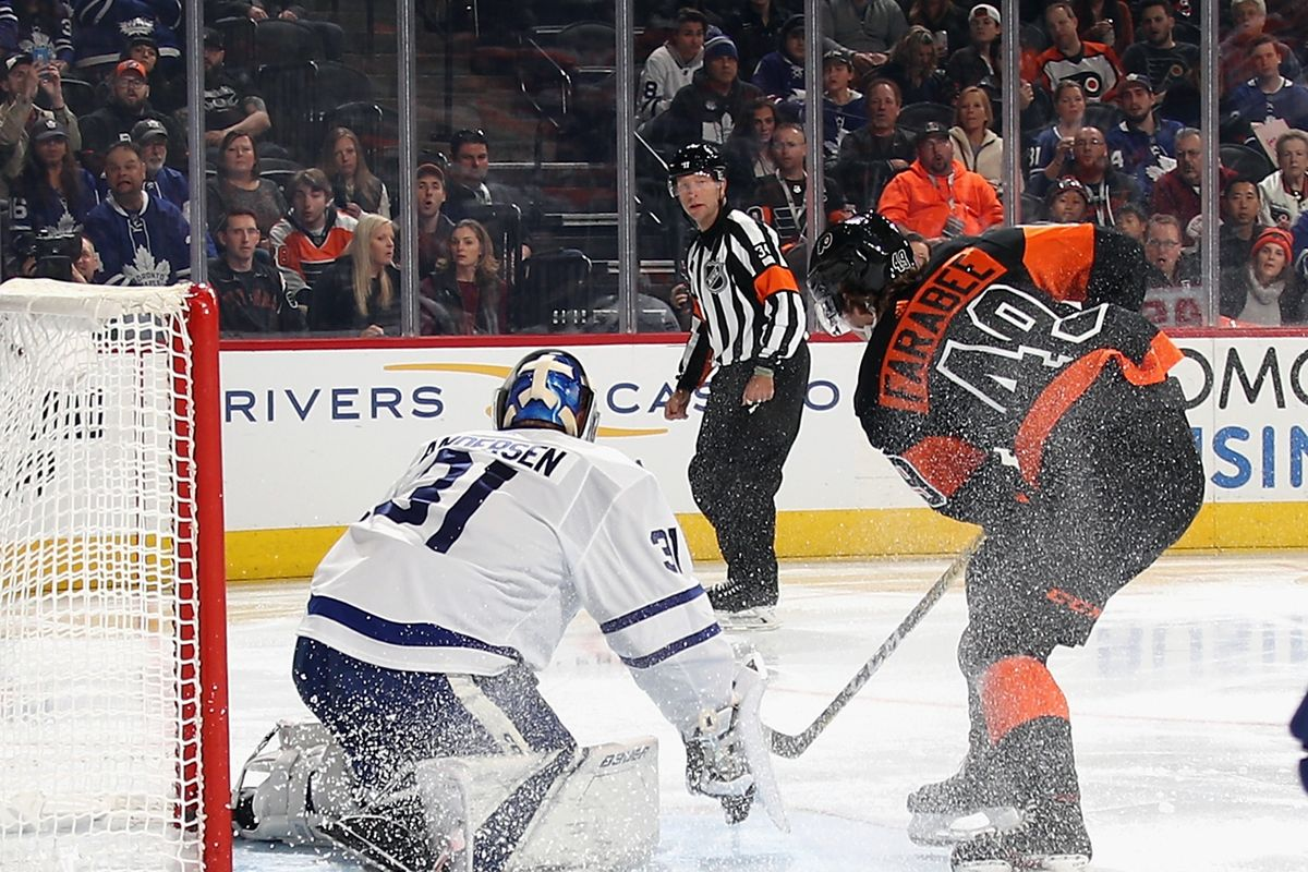 Leafs vs Flyers
