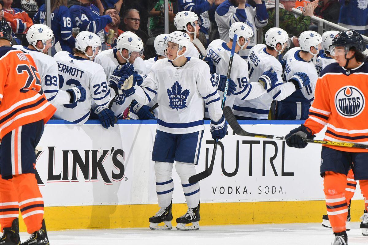 Maple Leafs vs Oilers