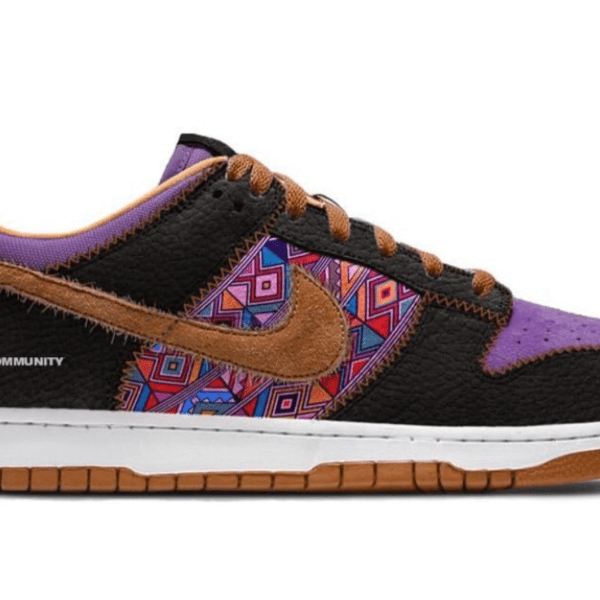 """Mockup of Nike Dunk Low """"BHM"""" Releasing February 2021. Speculative design."""