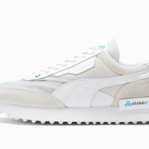 PUMA x CLOUD9 Future Rider with a suede upper with translucent vamp