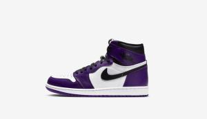 nike aj1 court purple