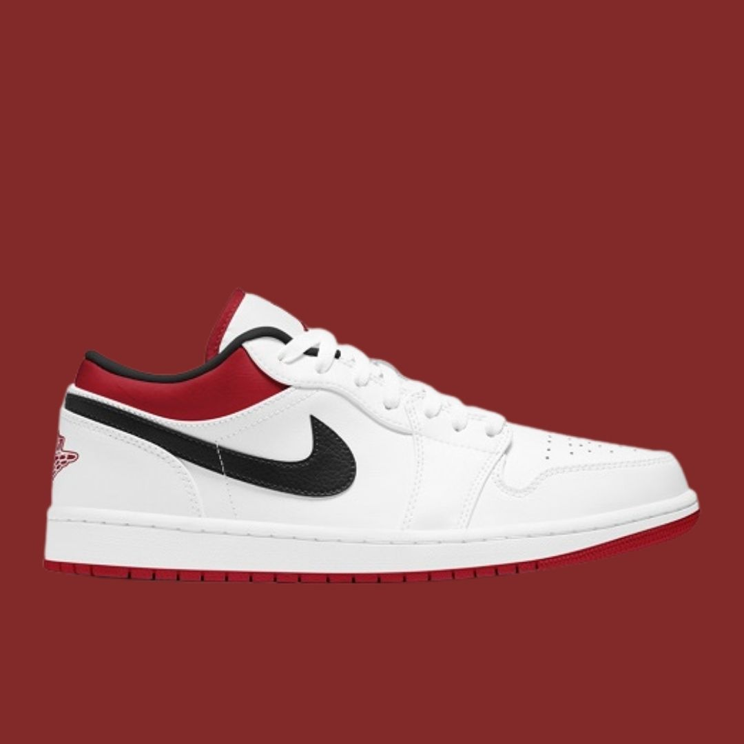 Air Jordan 1 Low Metallic Red-2