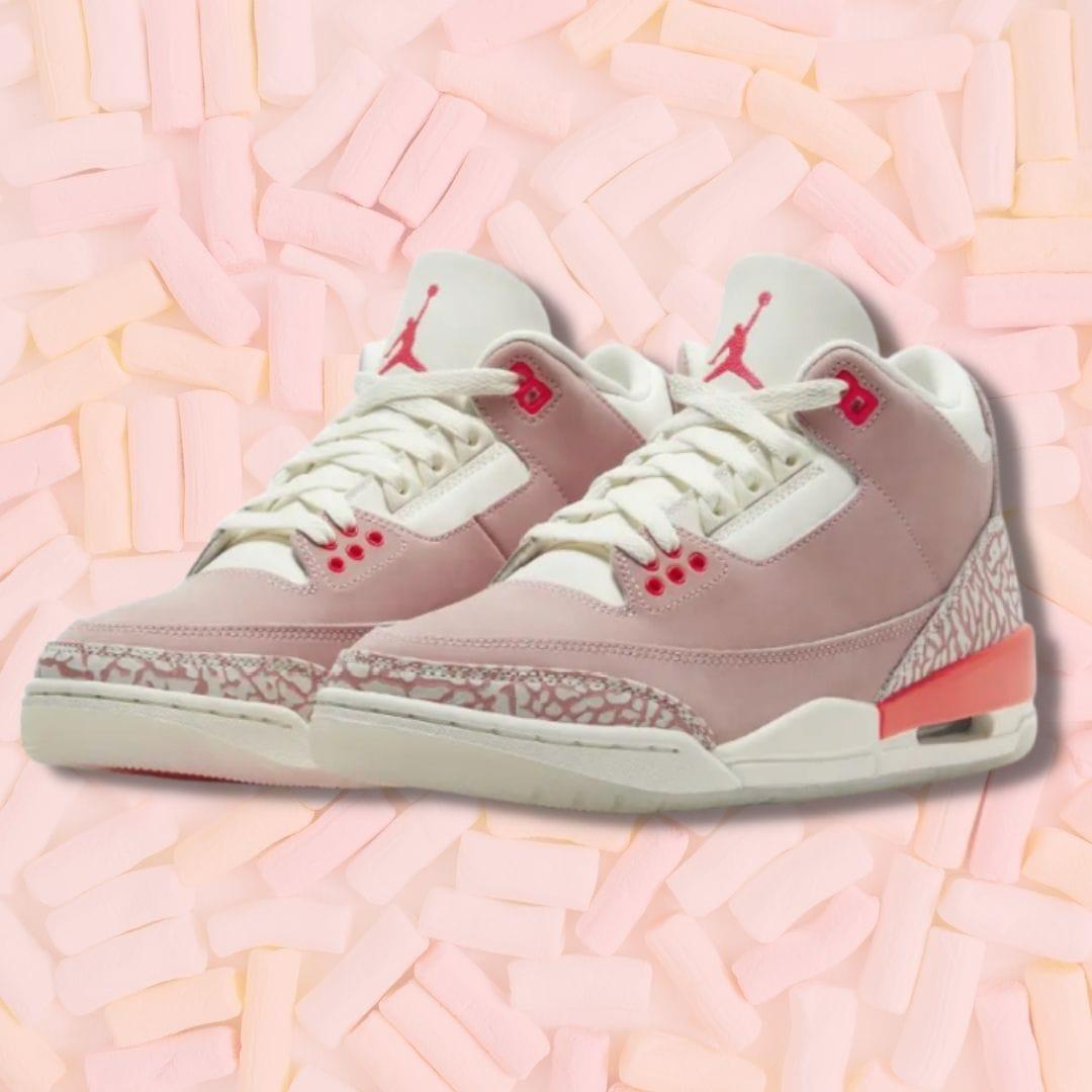 """Nike Air Jordan 3 """"Rust Pink"""""""