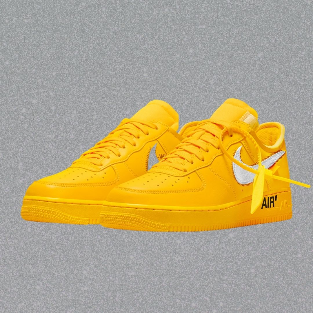 """Off-White x Nike Air Force 1 """"University Gold""""-2"""