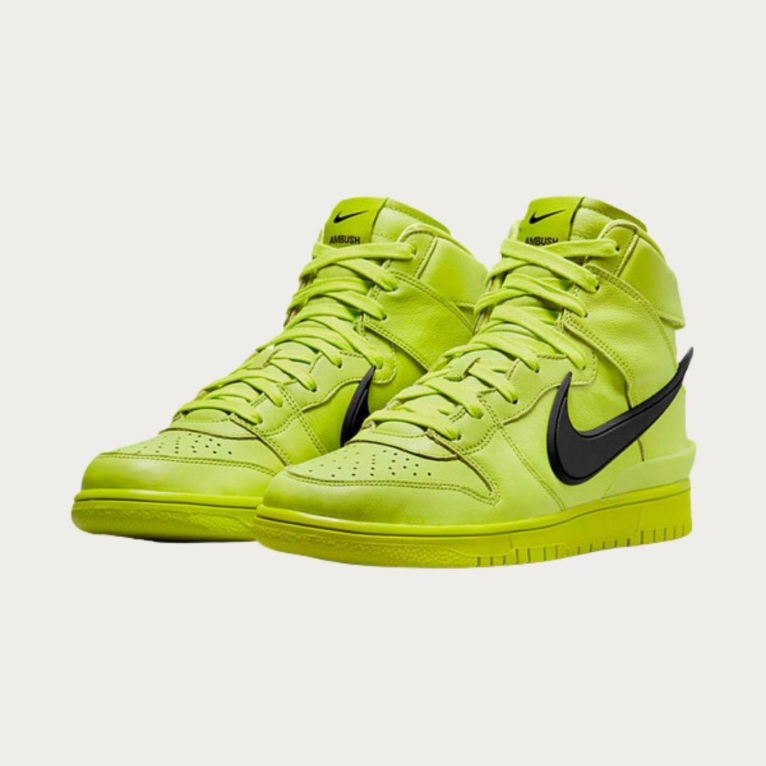 Ambush x Nike Dunk High Atomic Green-2
