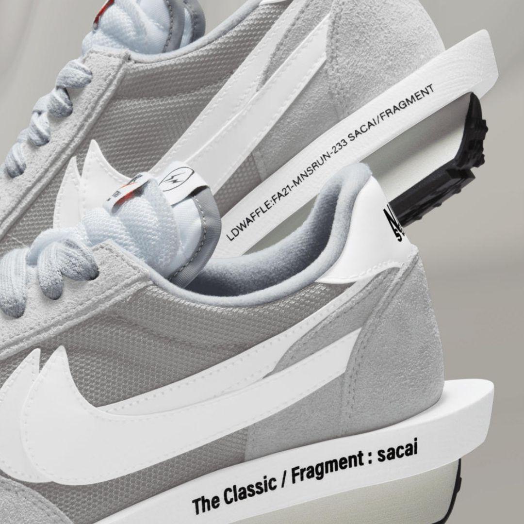 Nike x Sacai x Fragment LDWaffle Smoke Grey-2