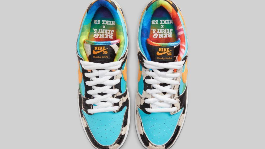 Nike SB Dunk Low Pro Ben & Jerry's เมื่อรองเท้าสเก็ตบอร์ดรวมร่างกับไอศกรีม