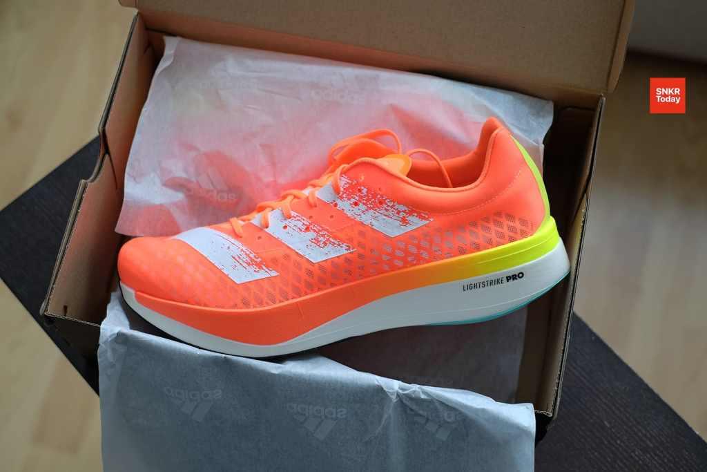 """adidas adizero Pro สีใหม่ """"Screaming Orange"""" เตรียมวางจำหน่ายในไทย เริ่มลงทะเบียน 25 ก.พ. นี้"""