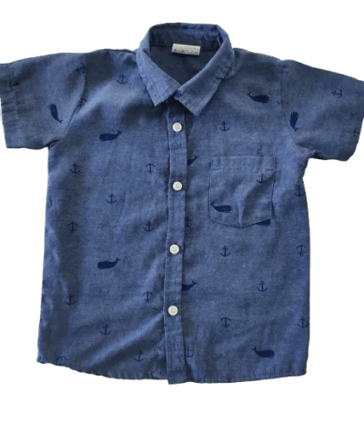 Best quality canvas shirt for baby