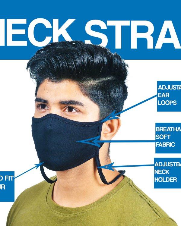Neck Strap Face Mask