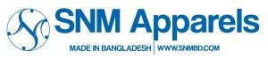 snm apparels logo