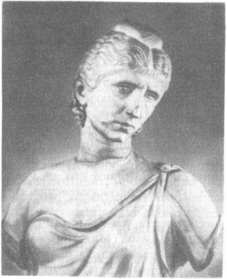 Портрет римлянки. Рим. Около 400 г. н.э.