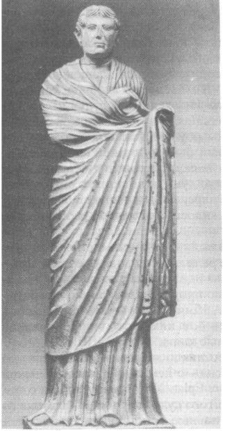 Задрапированная женщина. Надгробная статуя. Аквилея. II в. н.э.