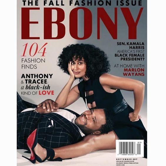 Tracee Ellis Ross Covers Ebony Magazine