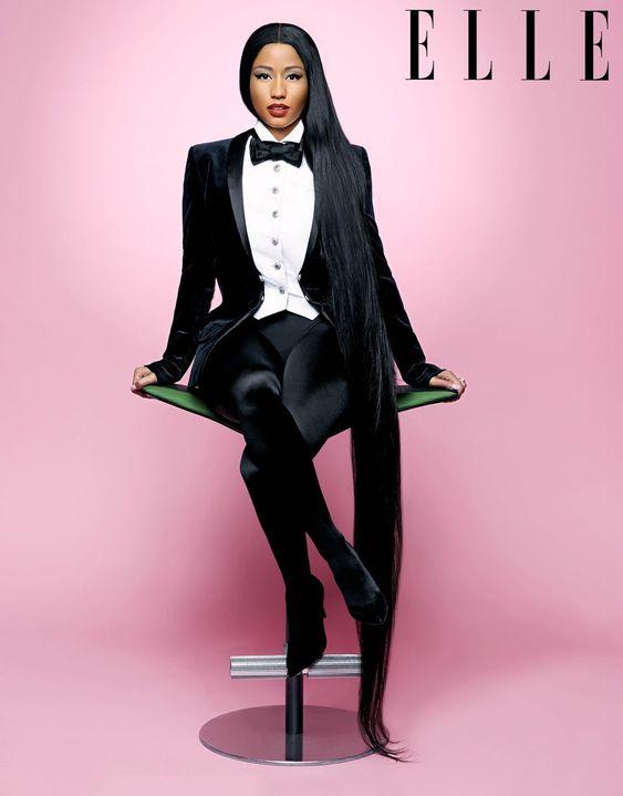 Nicki Minaj For Elle Magazine