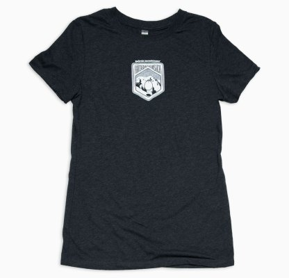 Women's Hatched in the Wasatch Vintage Black