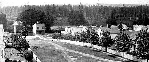 Avenue B, circa 1885