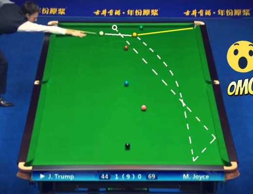 Judd Trump's Epic Frame Steal
