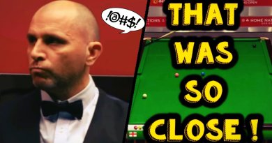 Joe Perry 147 Attempt FAIL as he Snookers Himself