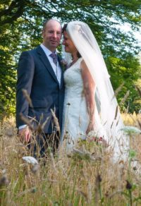Bride and groom giving a testimonial for Stephanie Snooks Photography