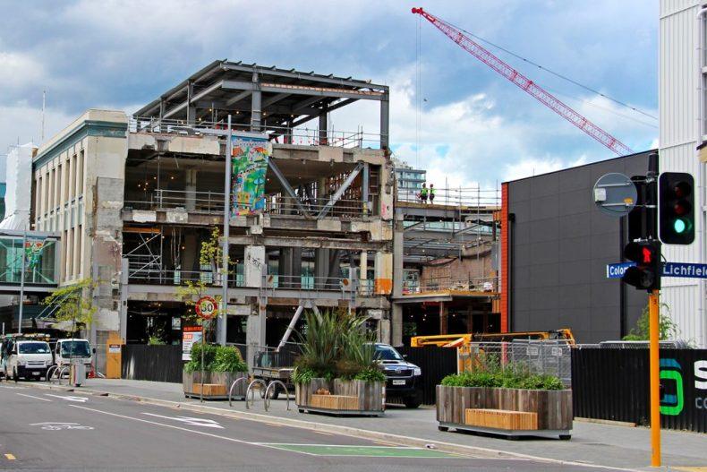 Tremblement de terre Christchurch Nouvelle Zélande