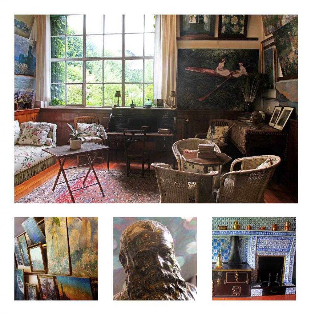 Intérieur de la maison de Monet à Giverny