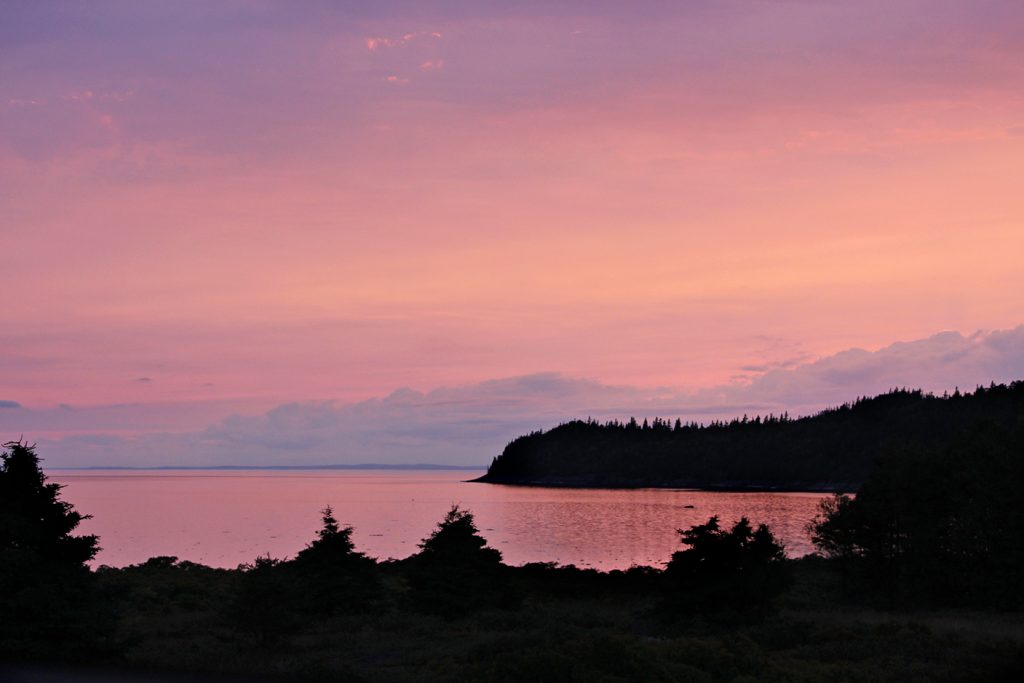 Parc national du Bic, Québec, Canada