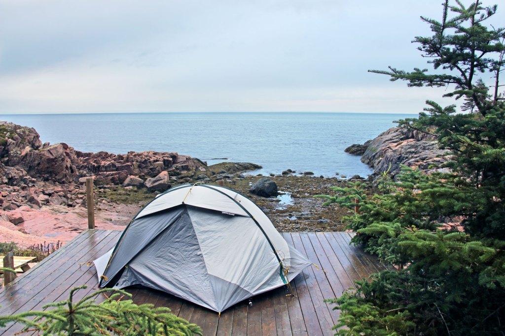 Camping Mer et Monde, Québec, Canada