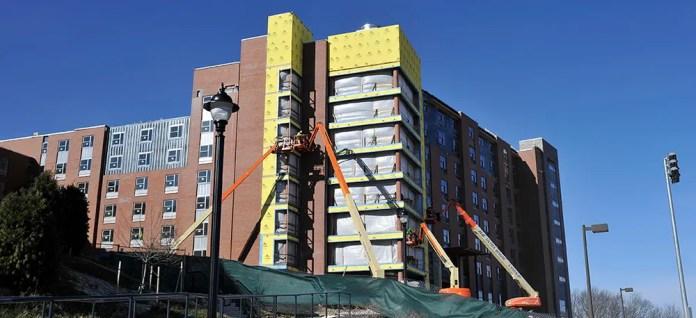 UConn Student Arrested After Swastika Painted on Building