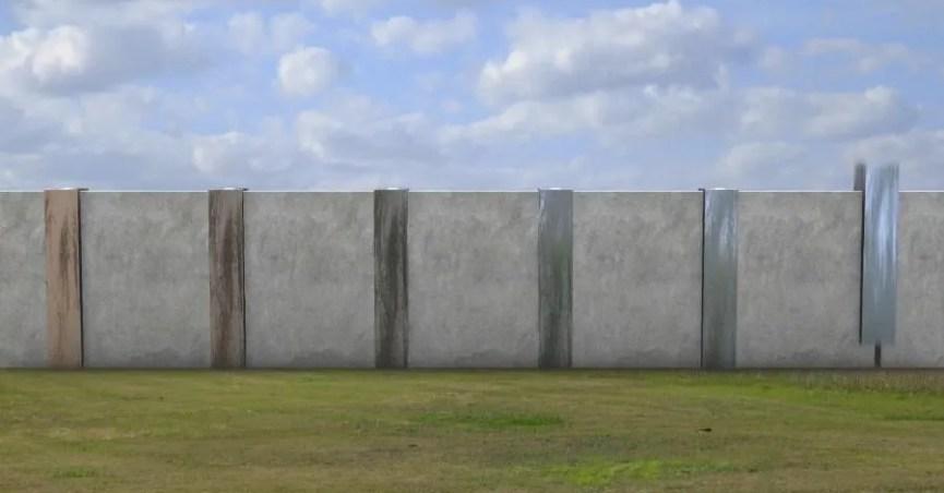 Mexico-Guatemala Border Wall