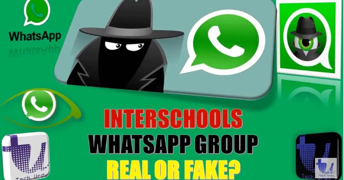 FACT CHECK: Interschools WhatsApp Warning