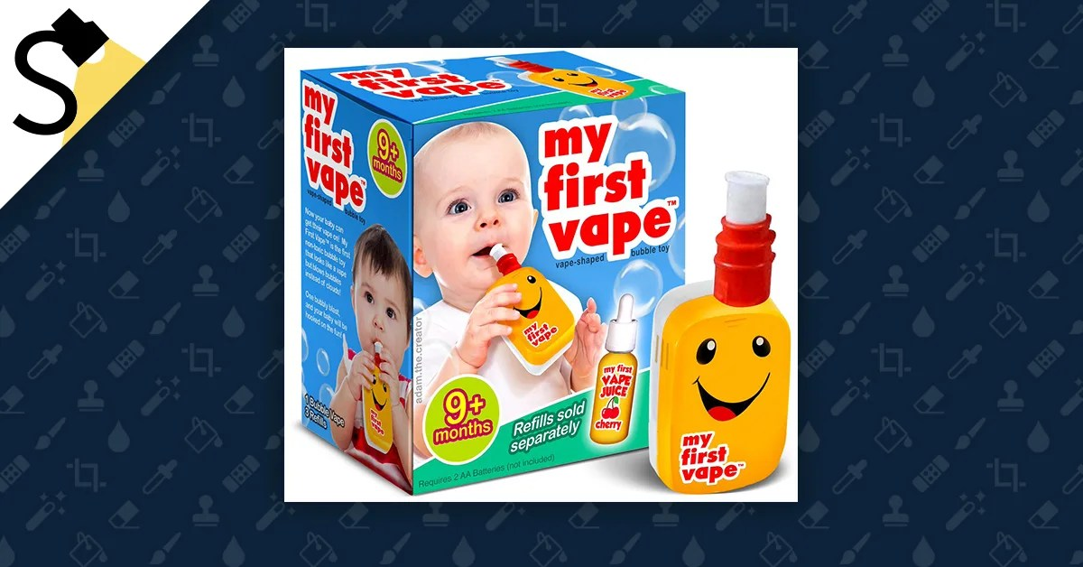 Fact Check Is There A Children S Toy Called My First Vape